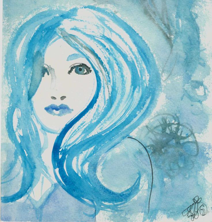 Blue girl rg